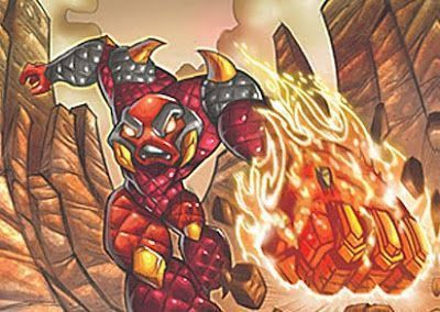 Gormiti Magmion, el Señor del Volcán Magma
