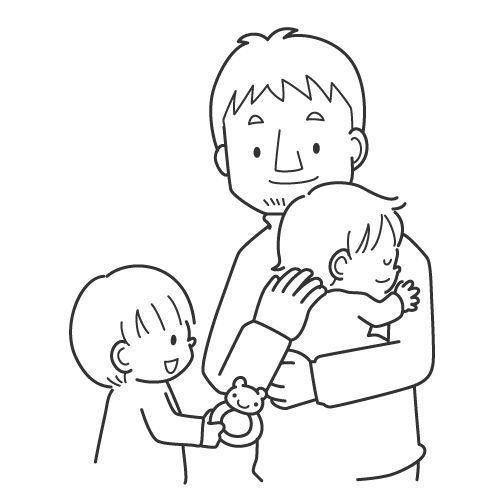 dibujos dia del padre  colorear