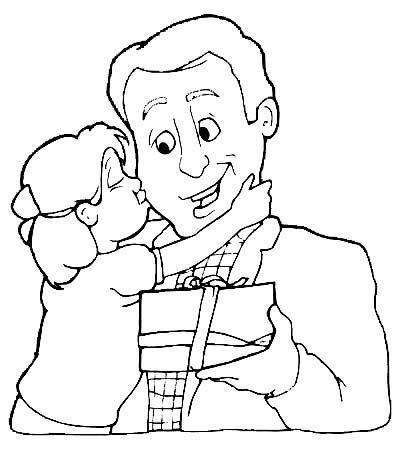 dibujos dia del padre para colorear