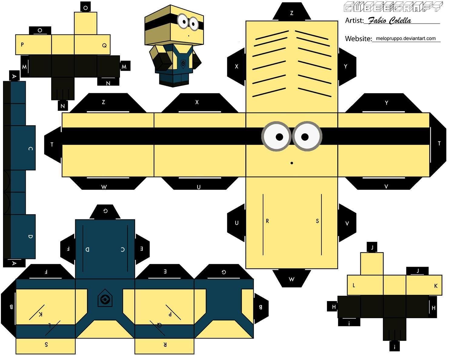 Maquetas de Minions 2