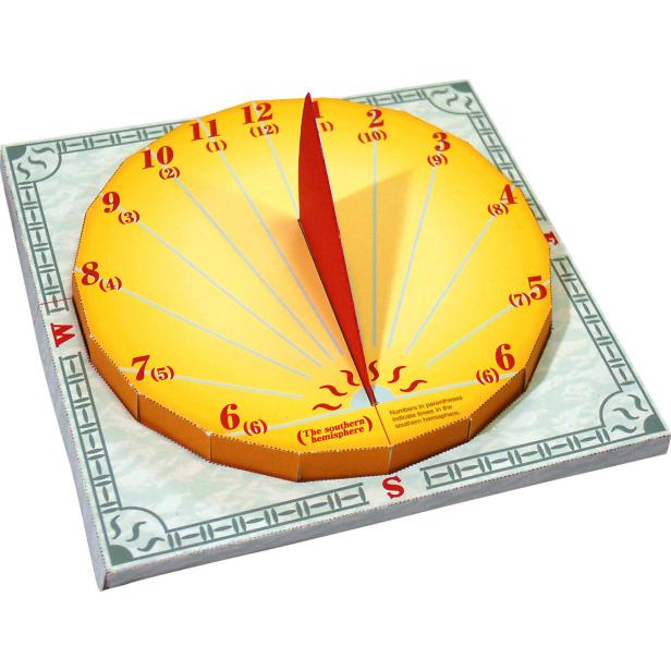maqueta reloj de sol