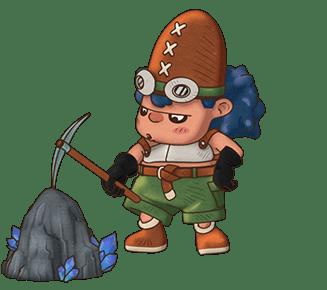 Fantasy Life - Minero