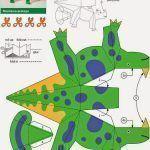Moldes de dinosaurios