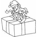 Dibujos de regalos para pintar