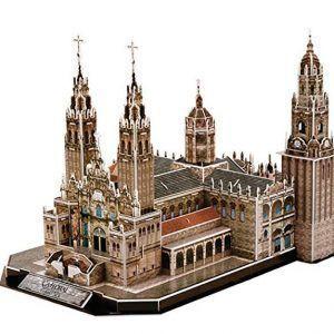 Puzzle 3D de Catedral de Santiago de Compostela