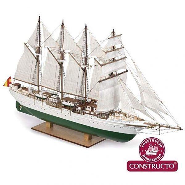 Maqueta del barco El Cano